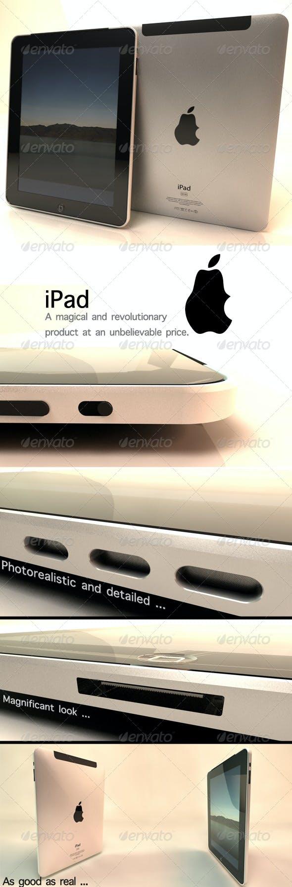 iPad - 3DOcean Item for Sale