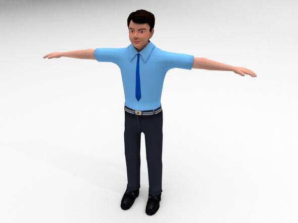 School Boy - 3DOcean Item for Sale