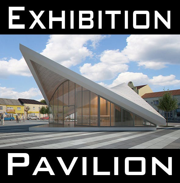 Expo Pavilion at City Plaza (Render Ready) - 3DOcean Item for Sale