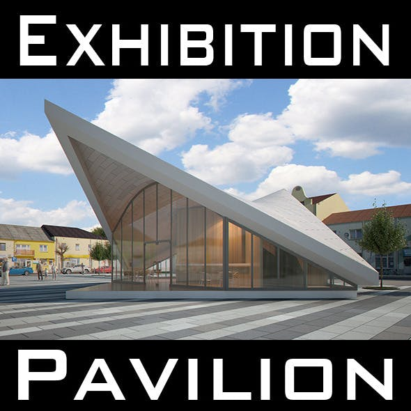 Expo Pavilion at City Plaza (Render Ready)