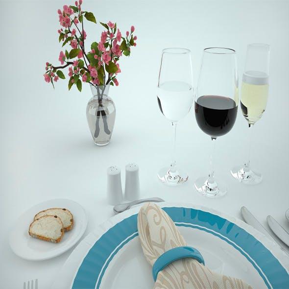 Tableware - 3DOcean Item for Sale