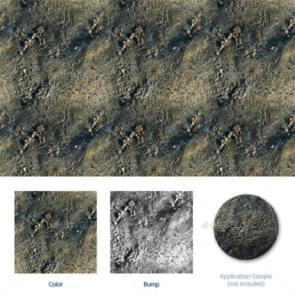 Crusty Rock - 3DOcean Item for Sale