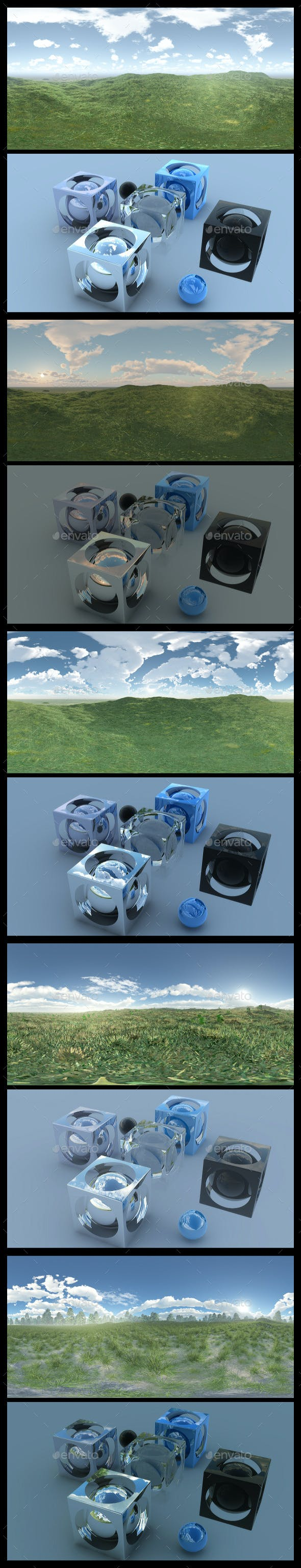 Grass Field - HDRI Pack - 3DOcean Item for Sale