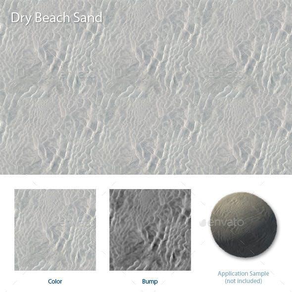 Dry Beach Sand