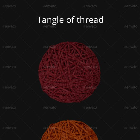 Tangle of thread