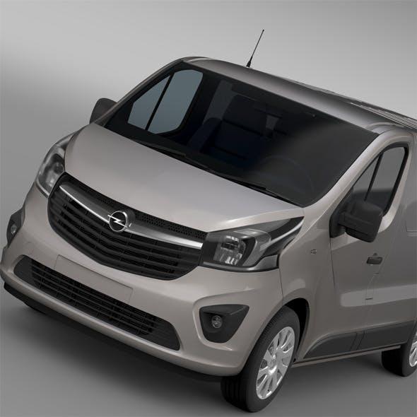 Opel Vivaro Van 2015 - 3DOcean Item for Sale