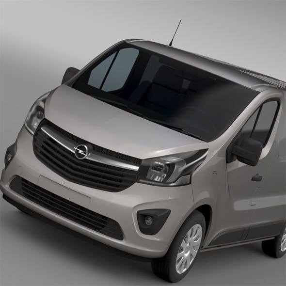 Opel Vivaro Van 2015