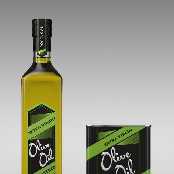 Olive Oil \\ Models and Render Scene