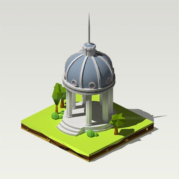Isometric Pantheon