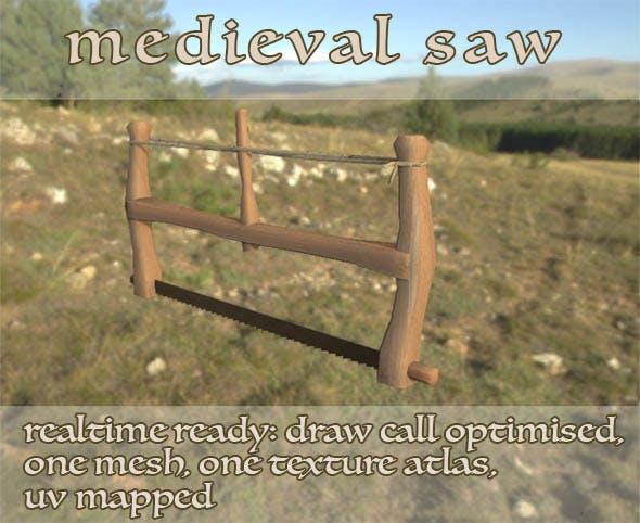 Medieval Viking Saw LP - 3DOcean Item for Sale