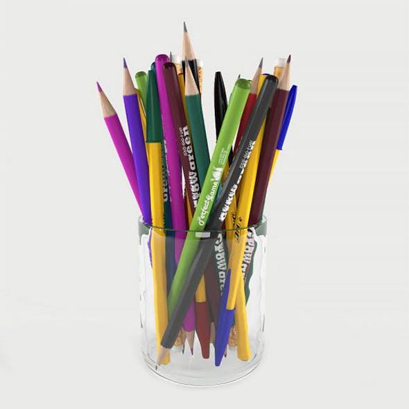 Color pencil - 3DOcean Item for Sale