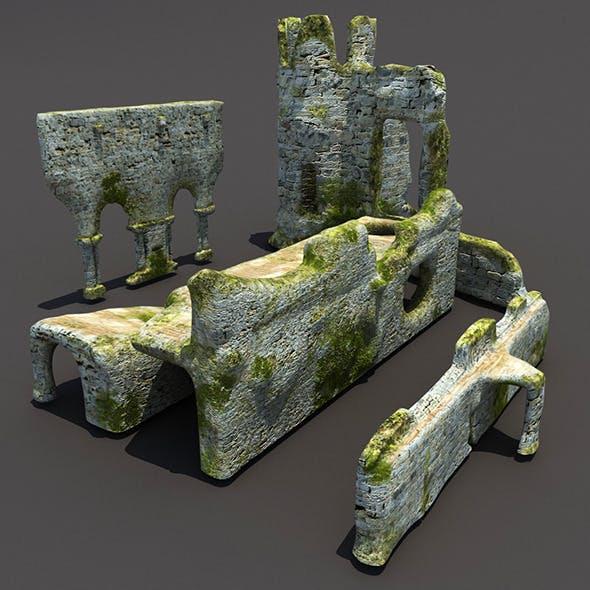 English Castle Ruin Pack