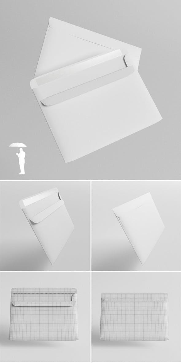 Envelope - 3DOcean Item for Sale
