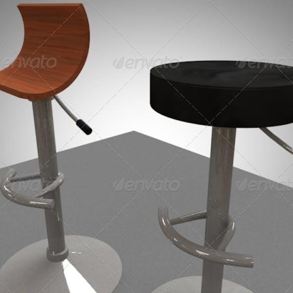 2 bar / breakfast bar stools