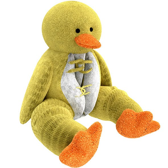 Duck Pillow Plush Toy