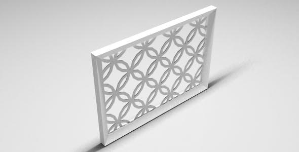 Arabic Frame - 3DOcean Item for Sale