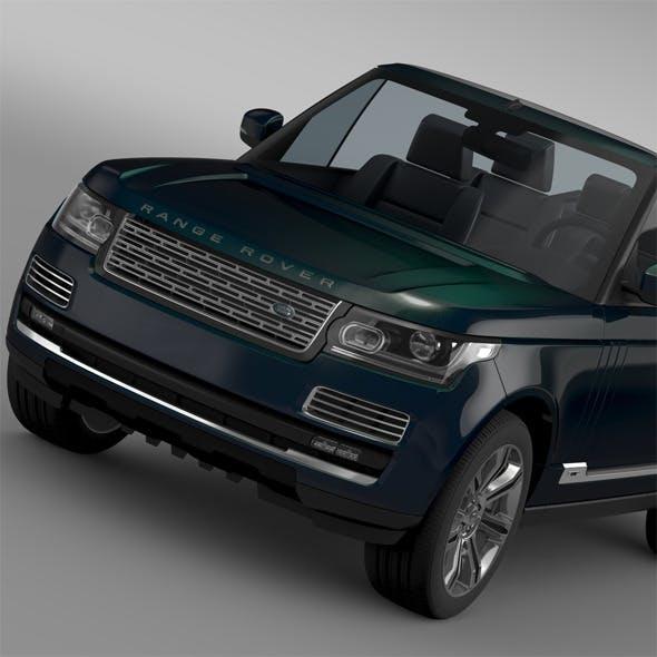 Range Rover Autobiography Black LWB Cabrio L405 2