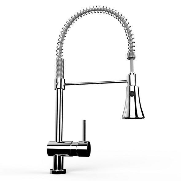Spring Faucet - 3DOcean Item for Sale
