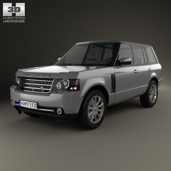 Land Rover CG Textures & 3D Models From 3DOcean