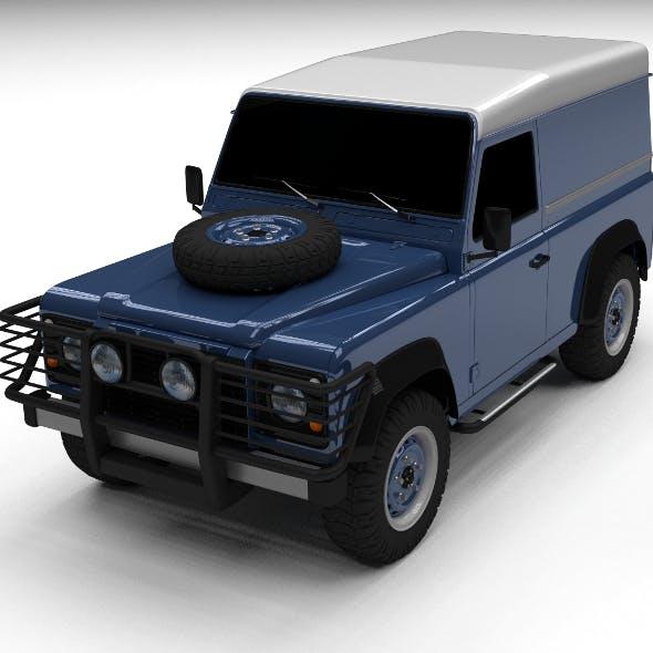 Land Rover Defender 90 Hard Top - 3DOcean Item for Sale