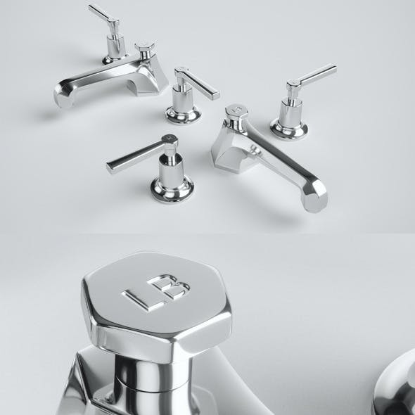 Lefroy Brooks Basin Mixer Tap M1-1101 (ML 1228)