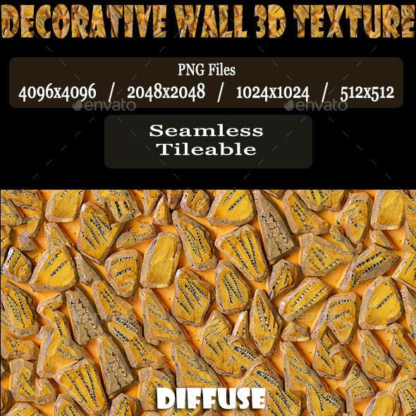 Decorative Wall 3D Texture