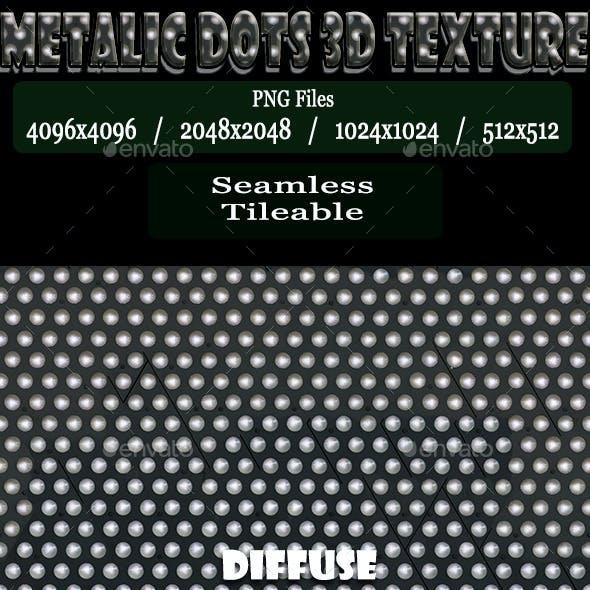 Metalic Dots 3D Texture