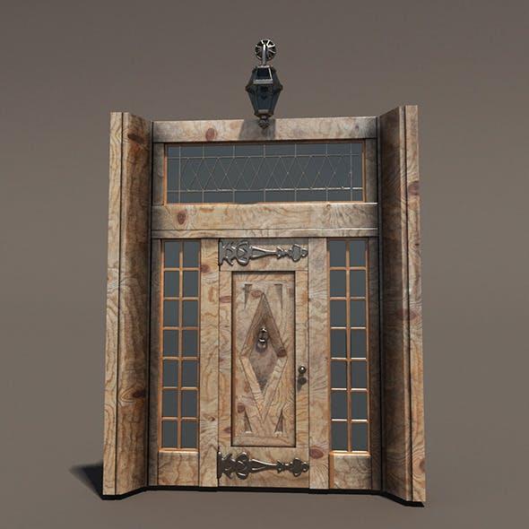 Ornament Wood Door Hi Detail - 3DOcean Item for Sale