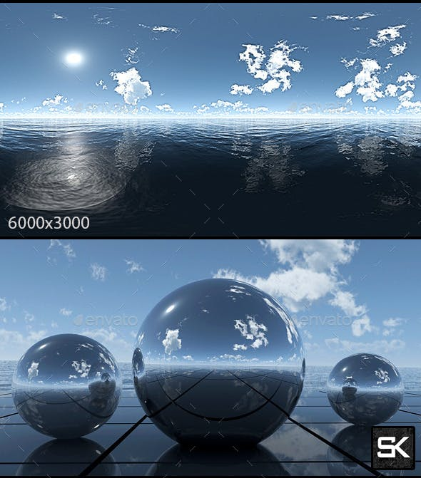 Sunrise On The Sea.4 - 3DOcean Item for Sale