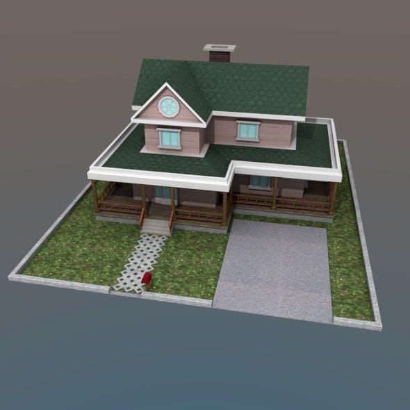 FamilyHouse - 3DOcean Item for Sale