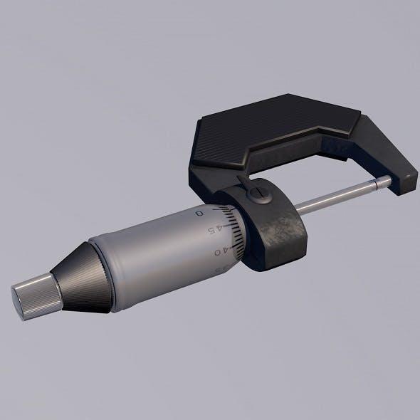 Micrometer - 3DOcean Item for Sale