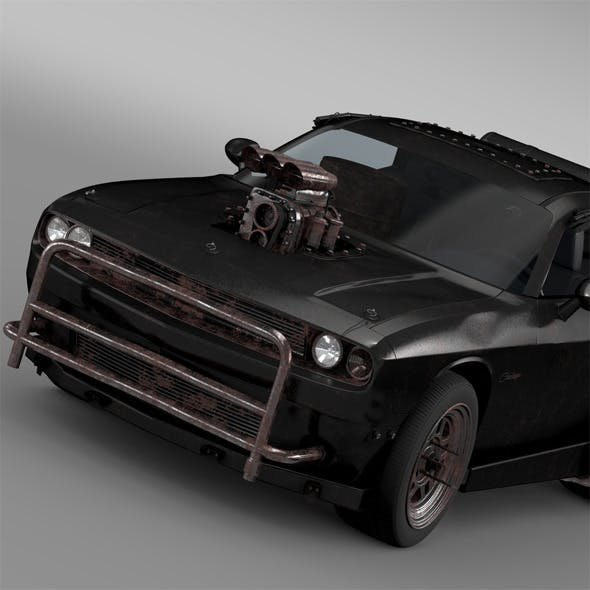 Mad Max Fight Interceptor Dodge Challenger 2015