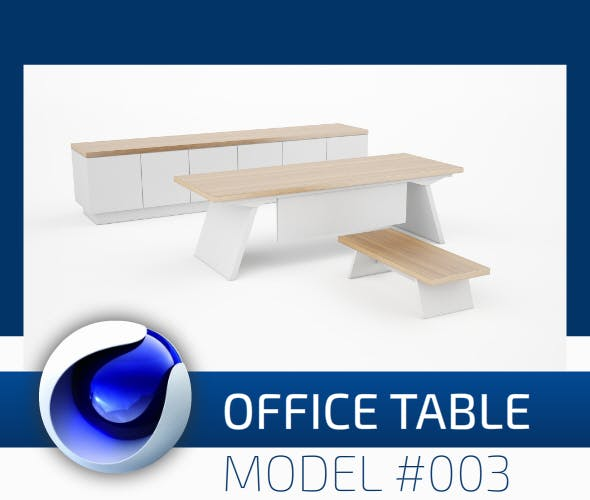 Office Collection Model 003 - 3DOcean Item for Sale