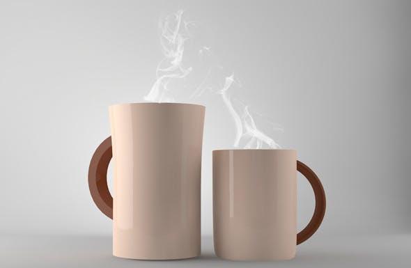 Ceramic Mug  - 3DOcean Item for Sale