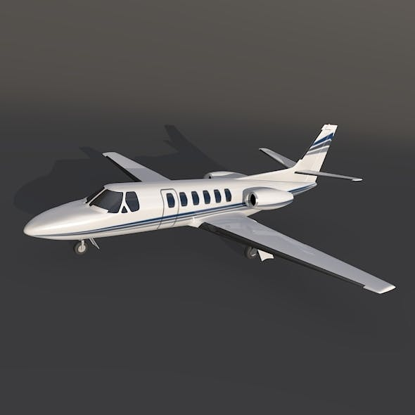 Cessna 550 citation II private jet