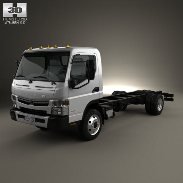 Mitsubishi Fuso Chassis Truck 2013 - 3DOcean Item for Sale