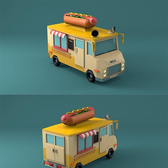 Hot Dog Car