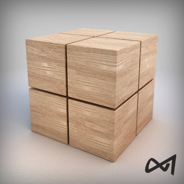 Wood Material 01 - Vray Shader - 6k Pixel Texture