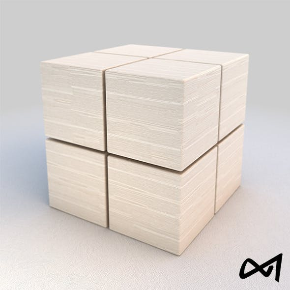 Wood White Material 03 -  V-Ray Shader - 6k Pixel