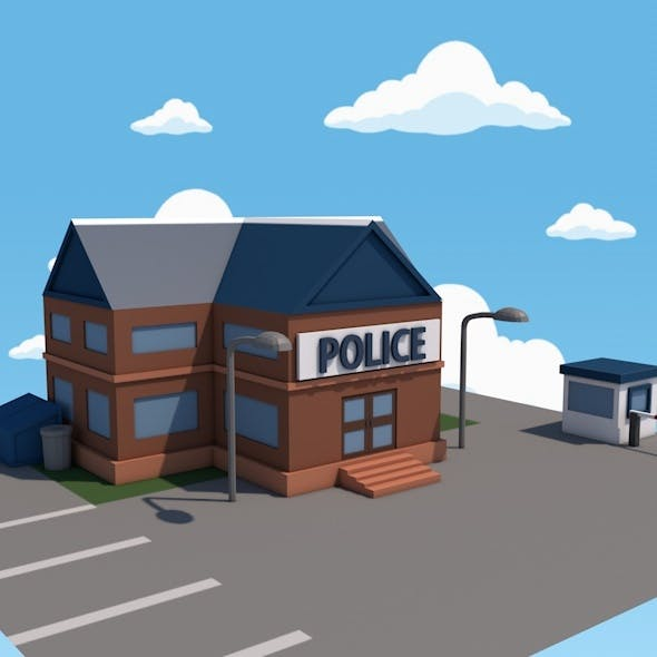 Police - 3DOcean Item for Sale