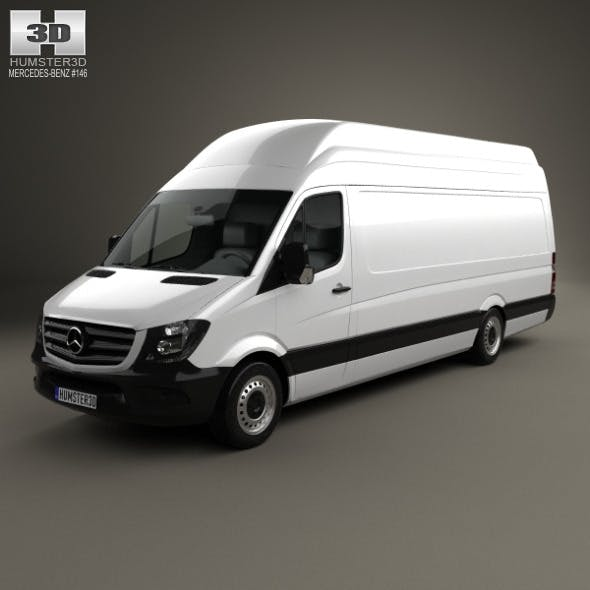 Mercedes-Benz Sprinter Panel Van ELWB SHR 2013