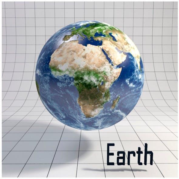 Earth - Realistic HD model