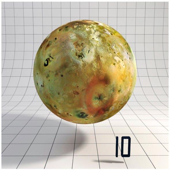 Io - Realistic HD model