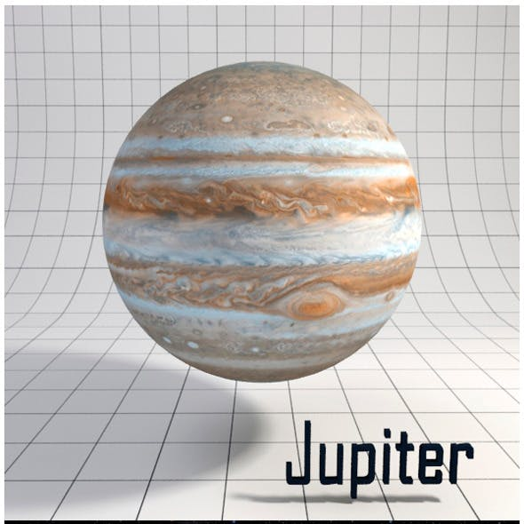 Jupiter - Realistic HD model