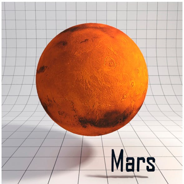 Mars - Realistic HD model