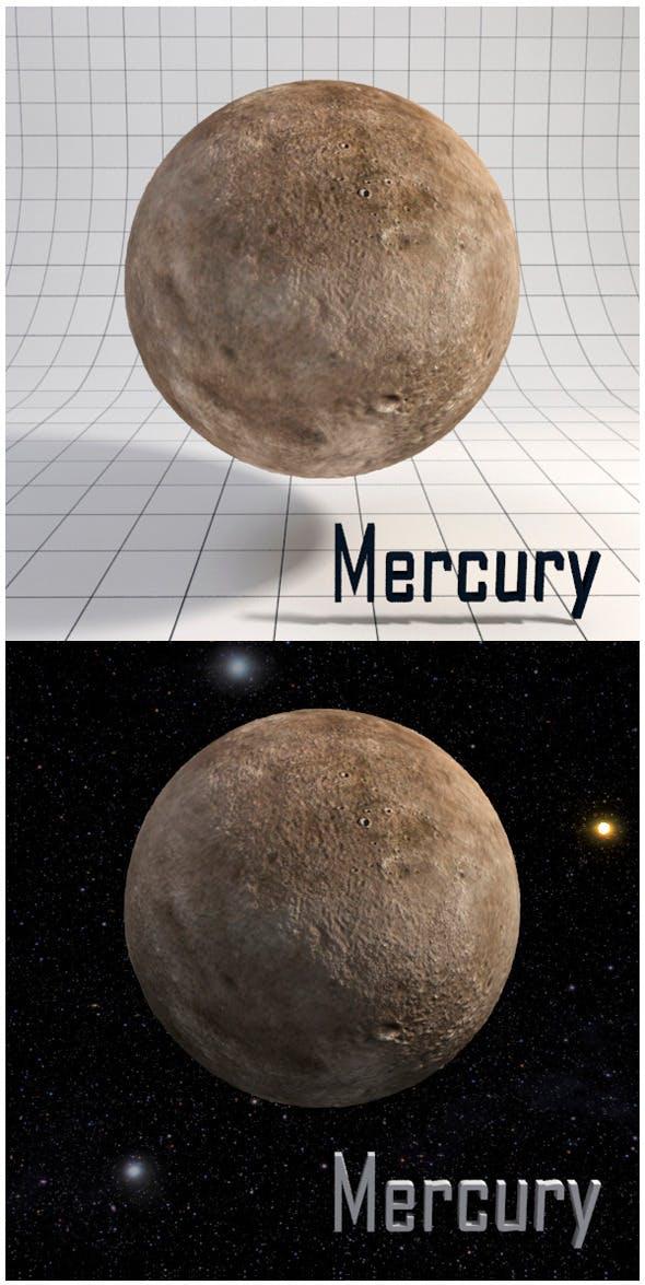 Mercury - Realistic HD model - 3DOcean Item for Sale