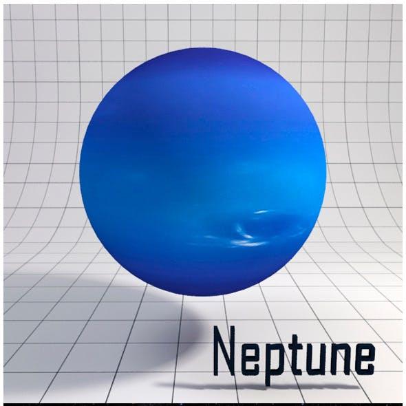 Neptune - Realistic HD model