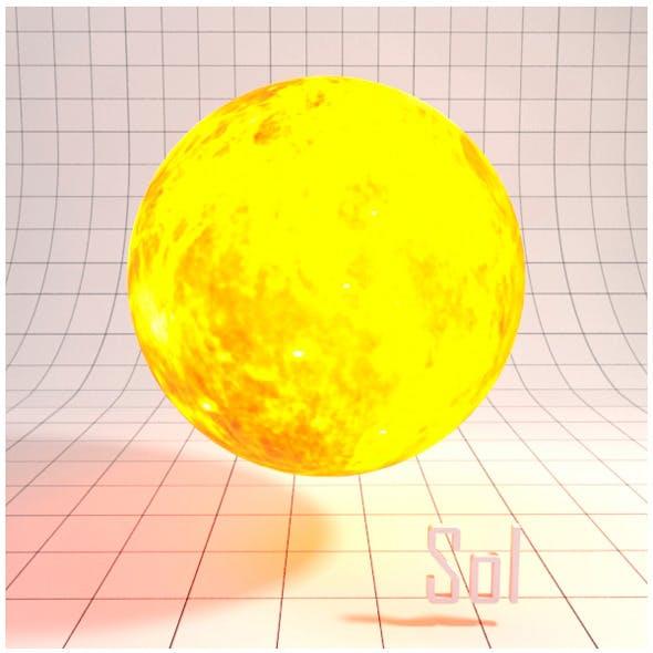 Sun (Sol) - Realistic HD model