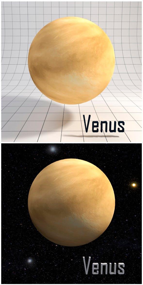 Venus - Realistic HD model - 3DOcean Item for Sale