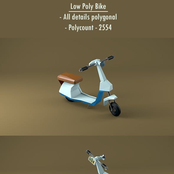 Low Poly Bike / Motorcycle